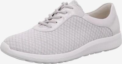 WALDLÄUFER Sneaker in silber / white denim, Produktansicht