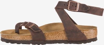 BIRKENSTOCK Sandalen in kastanienbraun, Produktansicht