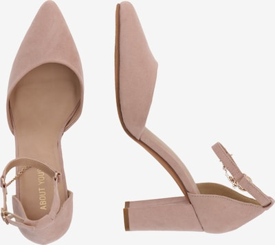 ABOUT YOU Pumps 'Miley' in nude: Seitenansicht