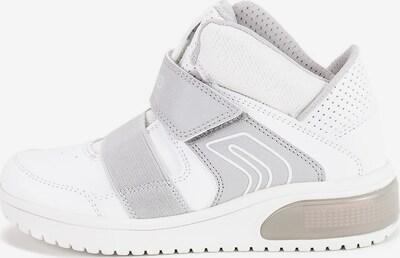 GEOX Kids Sneaker 'XLed' in hellgrau / weiß, Produktansicht