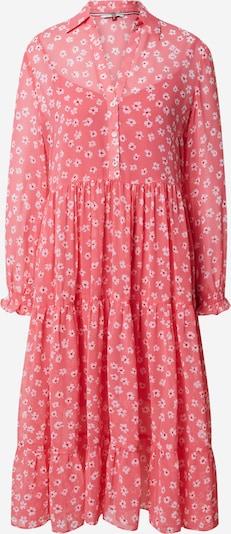 Tommy Jeans Košeľové šaty 'TJW Floral' - ružová / červené / biela: Pohľad spredu