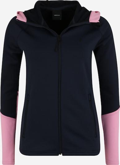 PEAK PERFORMANCE Bluza rozpinana sportowa 'RIDER ZIP' w kolorze ciemny niebieski / różowy pudrowym, Podgląd produktu