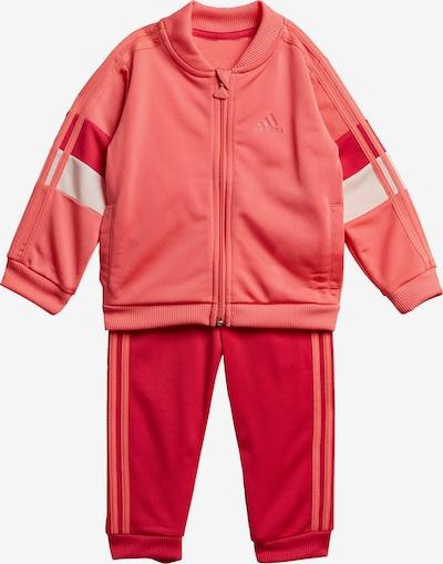 ADIDAS PERFORMANCE Trainingsanzug 'Shiny' in pitaya / hellrot, Produktansicht