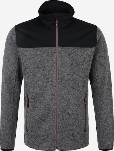 CMP Sportjacke in dunkelgrau / schwarz, Produktansicht