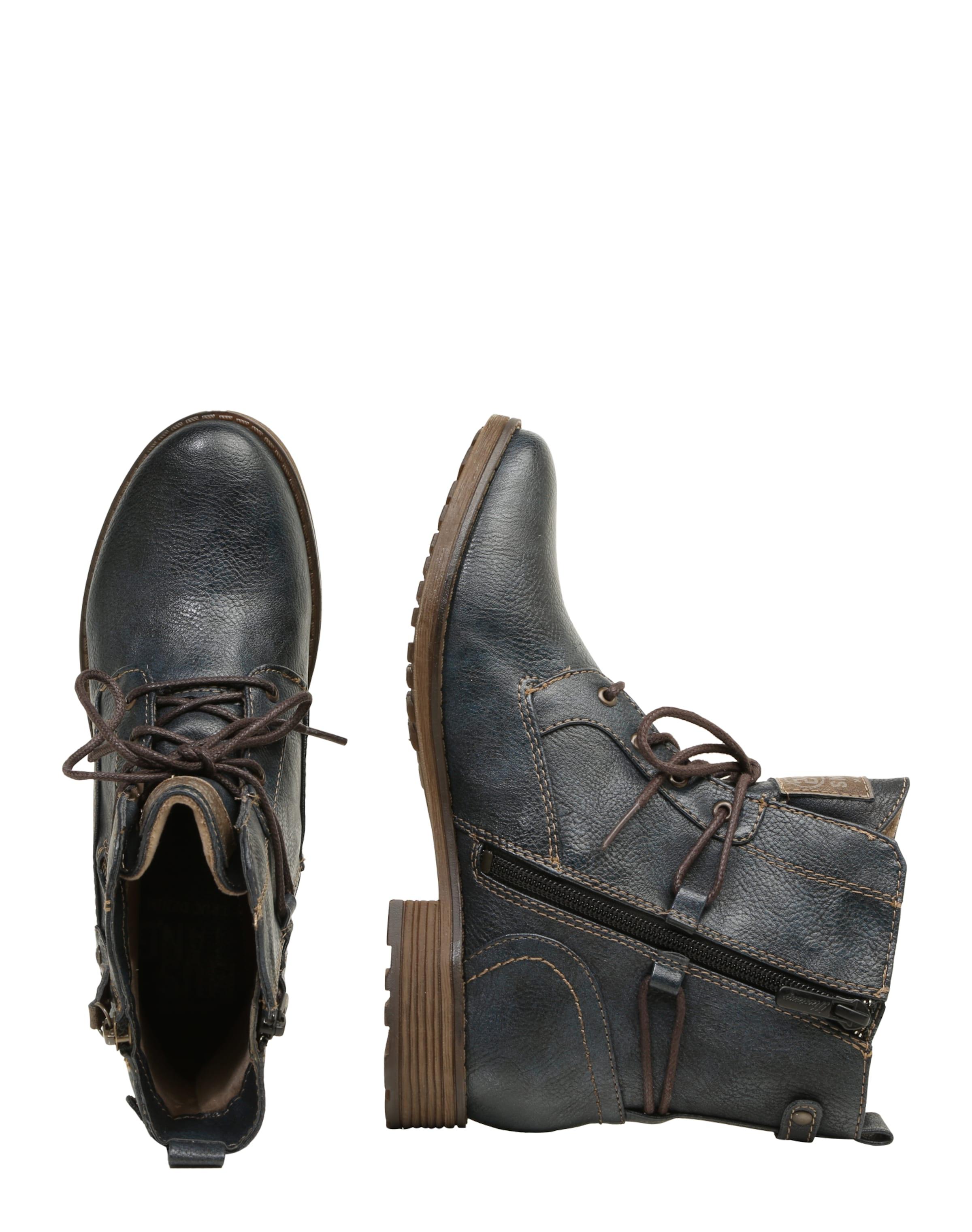 MUSTANG Schnürstiefeletten im Leder-Look Billige Schnelle Lieferung Preiswerte Reale Eastbay VhhXij0N