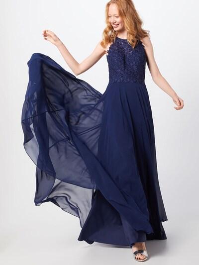 LUXUAR Abendkleid in dunkelblau, Modelansicht