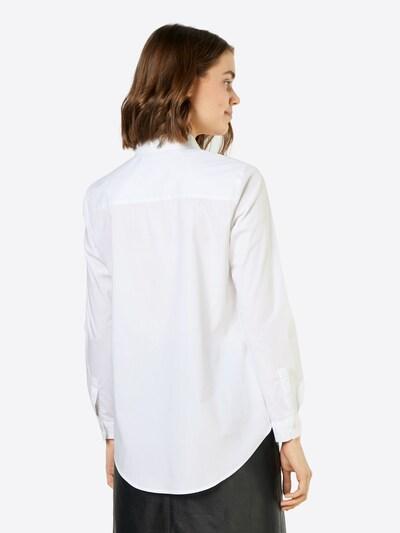 JACQUELINE de YONG Klassische Bluse in weiß: Rückansicht