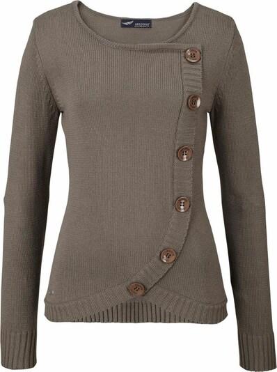 ARIZONA Pullover in taupe, Produktansicht