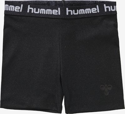Hummel Radshorts 'Tona' in schwarz / weiß, Produktansicht