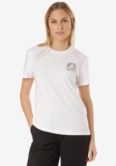 Volcom T-Shirt 'Ozzie Rainbow' in mischfarben / weiß, Produktansicht