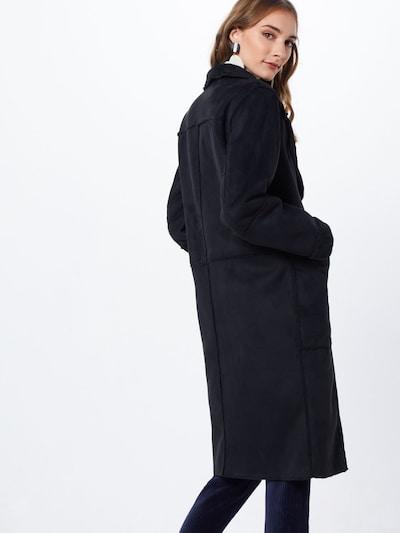 Rudeninis-žieminis paltas 'SHERLING' iš VILA , spalva - juoda: Vaizdas iš galinės pusės
