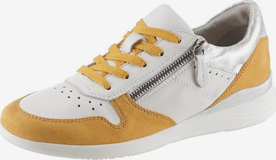 JANA Sneaker in safran / silber / weiß, Produktansicht