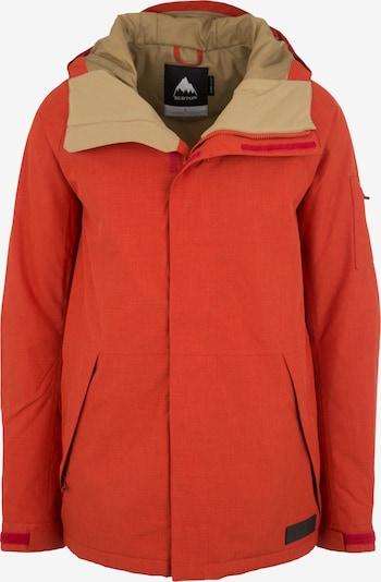 BURTON Snowboard-Jacke 'Hilltop' in rot, Produktansicht