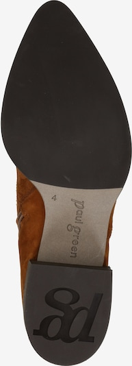 Paul Green Bottines 'Stiefelette' en cognac: Vue de dessous