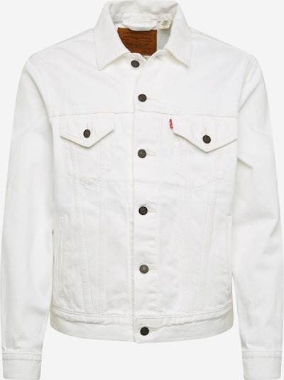 LEVI'S Jacke 'THE VIRGIL TRUCKER' in white denim, Produktansicht