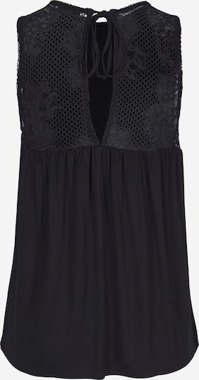 LASCANA Top | črna barva, Prikaz izdelka