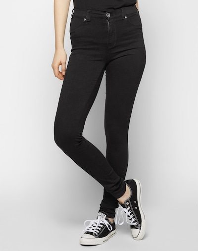 Dr. Denim 'Plenty' Jeggings in schwarz, Modelansicht