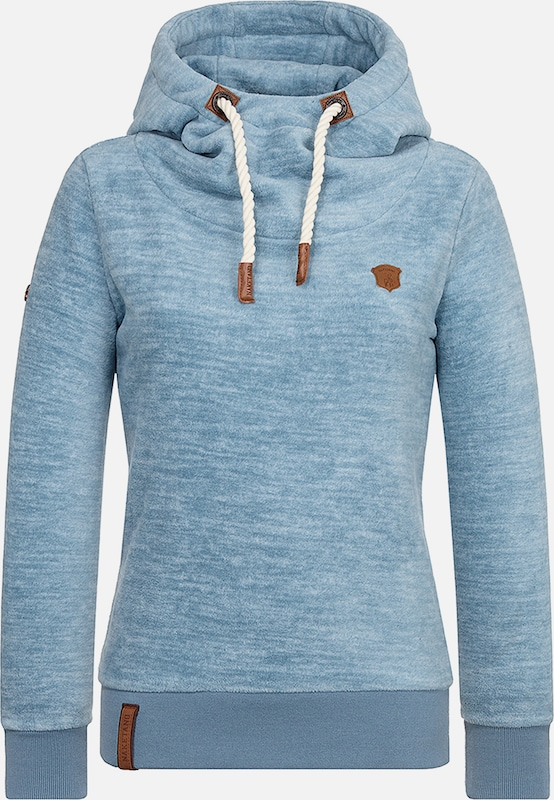 Naketano Sweatshirt 'Kanisterkopf' in hellblau  Markenkleidung für Männer und Frauen