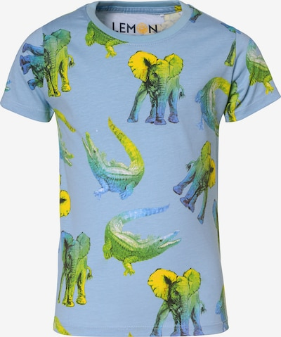 LEMON BERET T-Shirt , Organic Cotton in blau, Produktansicht