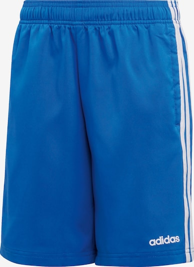 ADIDAS PERFORMANCE Shorts 'E 3S WV SH' in royalblau / weiß, Produktansicht