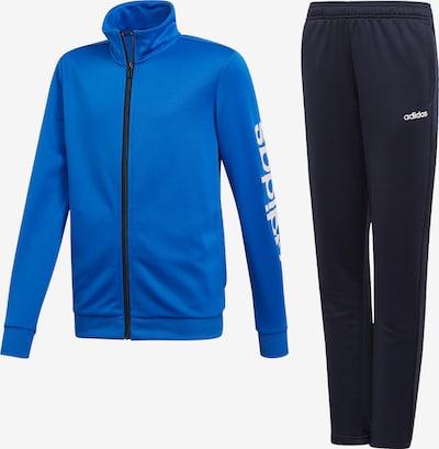 ADIDAS PERFORMANCE Trainingsanzug 'YB TS Pes' in blau / nachtblau, Produktansicht