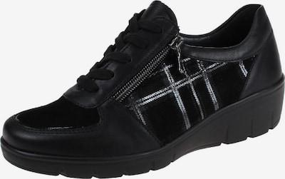 SEMLER Schnürschuhe in schwarz / silber, Produktansicht