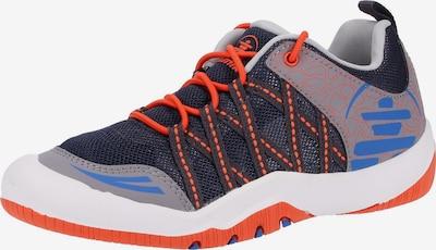 Kamik Sneaker in blau / nachtblau / grau / dunkelorange, Produktansicht