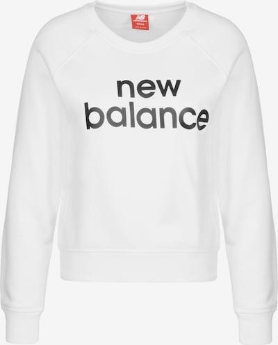 new balance Sweatshirt 'Essentials' in schwarz / weiß, Produktansicht