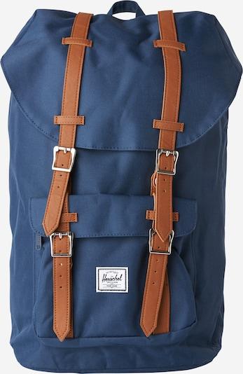 Herschel Plecak 'Little America' w kolorze granatowy / brązowy / różowym, Podgląd produktu