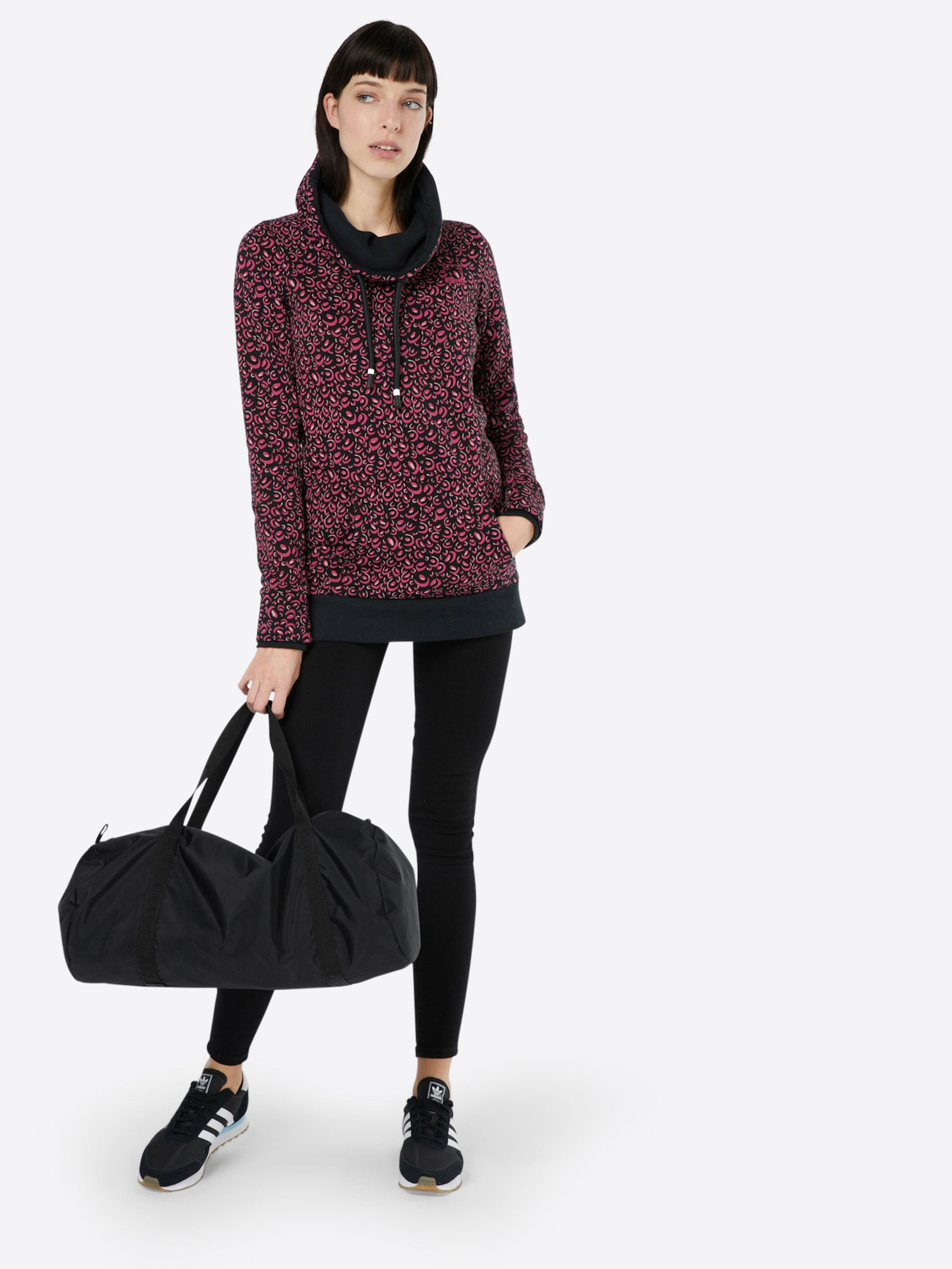 Sweater 'HER FUNNEL 'HER Sweater OPEN BENCH CORP OPEN CORP BENCH AOP' NECK SYUXqxnOv