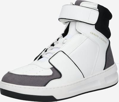 ARMANI EXCHANGE Sneaker in grau / schwarz / weiß, Produktansicht