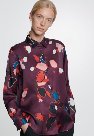 SEIDENSTICKER Bluse in rot, Modelansicht