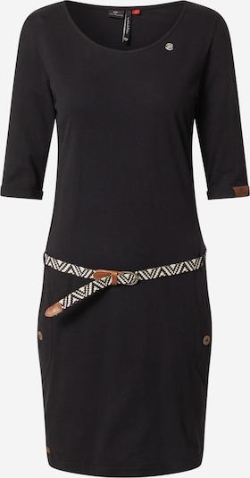 Ragwear Robe 'Tanya' en noir, Vue avec produit