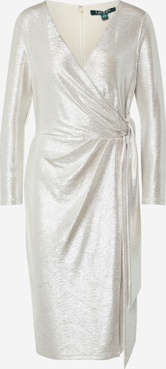 Lauren Ralph Lauren Kokteilové šaty 'HOLINDA' - šampanské / striebornošedá, Produkt