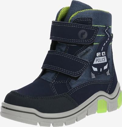RICOSTA Schuhe 'Whiston' in blau / neongrün, Produktansicht