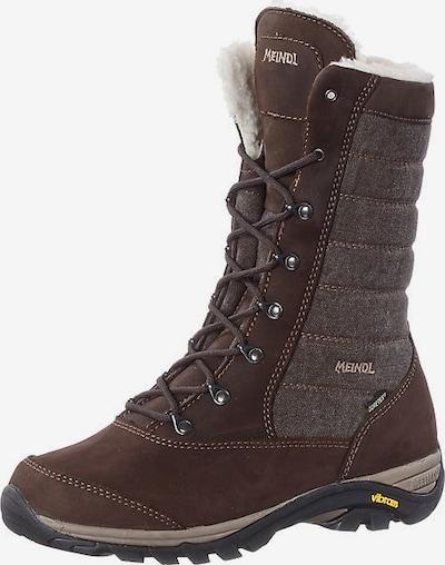 MEINDL Boots 'Fontallena' in de kleur Donkerbruin / Donkergrijs, Productweergave