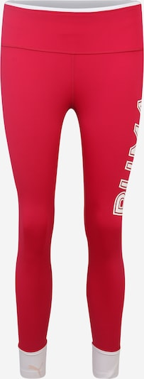 PUMA Sport-Leggings  'Modern Sports Fold up Legging' in pink / weiß, Produktansicht