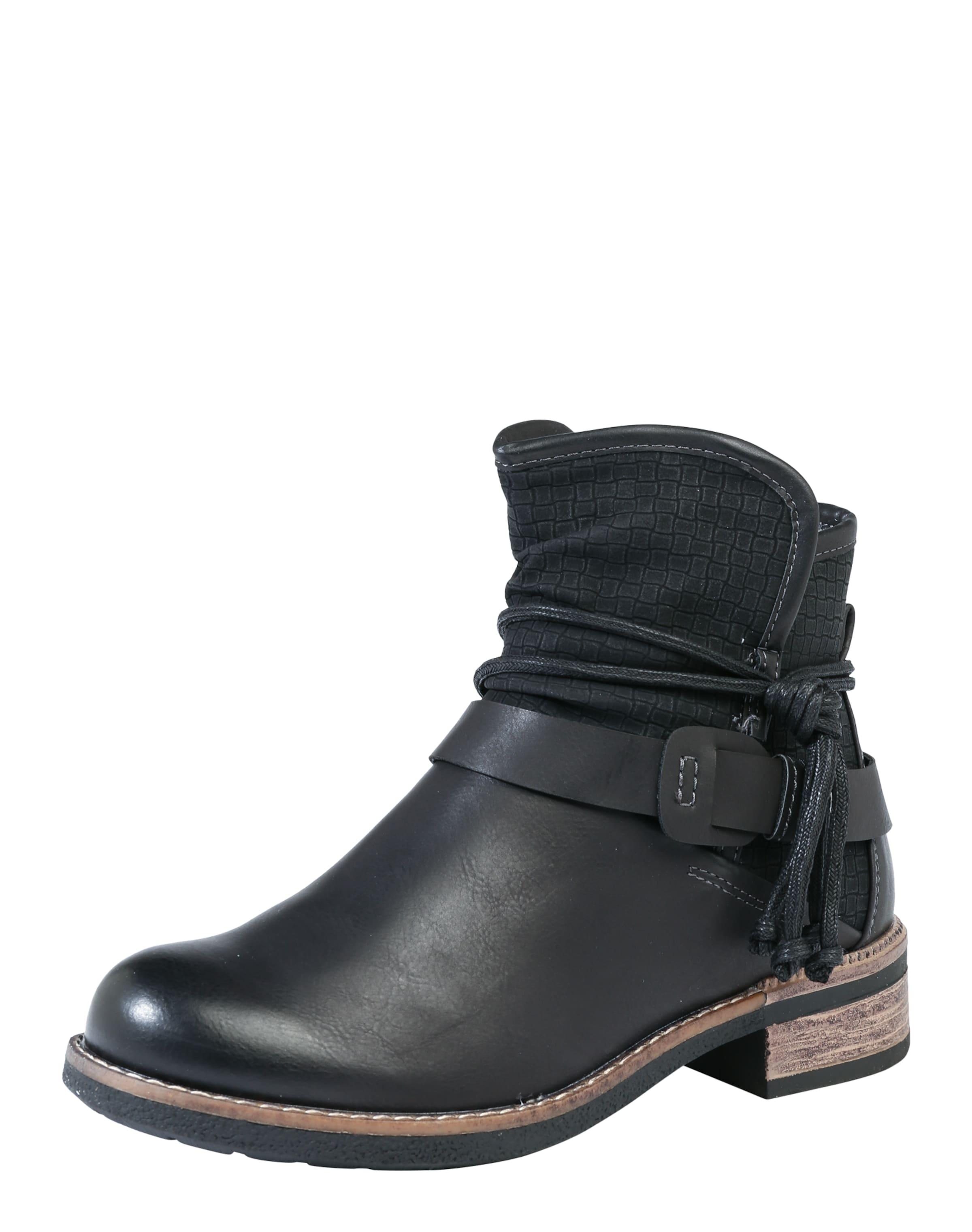 Haltbare Mode billige Schuhe RIEKER   Stiefelette in Leder-Optik Schuhe Gut getragene Schuhe