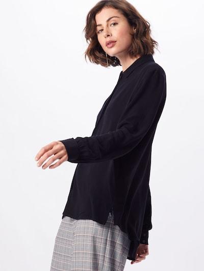 OBJECT Bluse in schwarz, Modelansicht