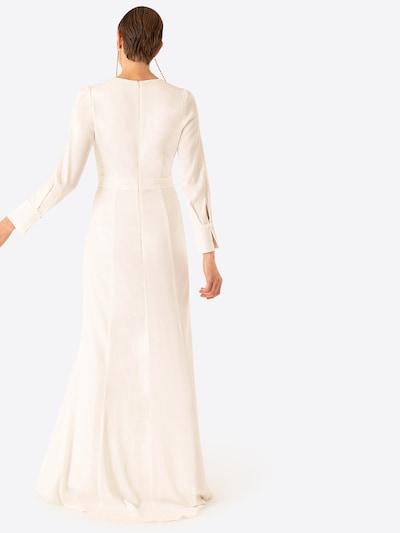 Vakarinė suknelė iš IVY & OAK , spalva - balta: Vaizdas iš galinės pusės