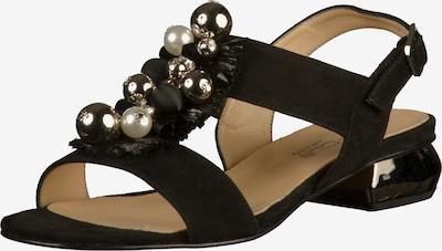 MOT-CLè Sandalen in hellbeige / schwarz, Produktansicht