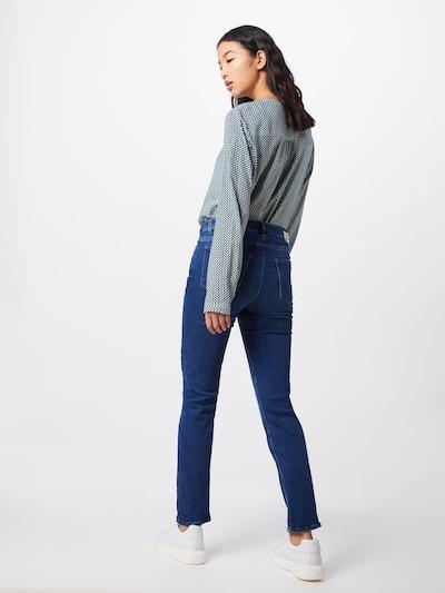 BRAX Jeans 'SHAKIRA' in de kleur Blauw denim: Achteraanzicht
