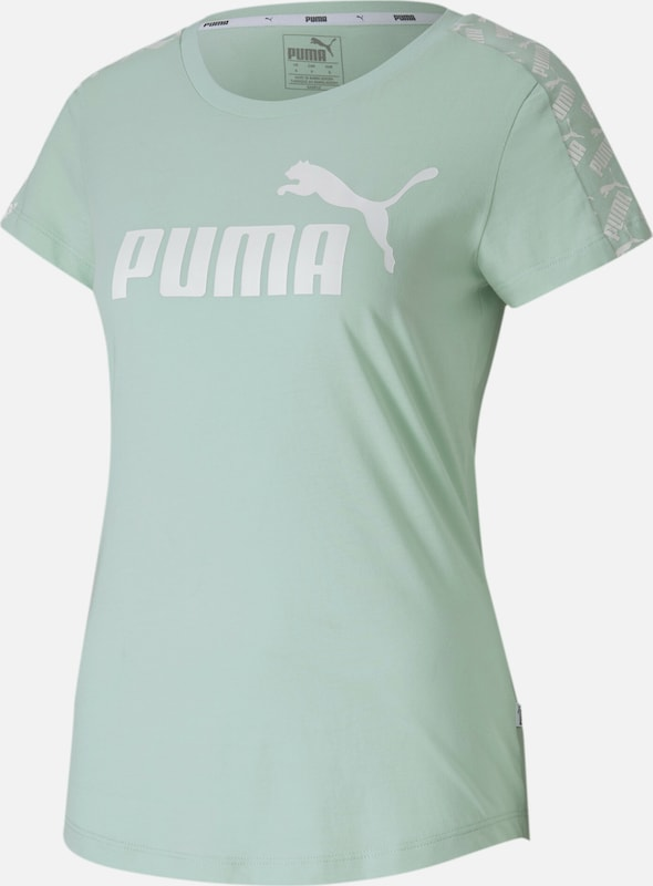 PUMA T-Shirt in mint, Produktansicht