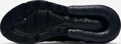Sneaker low Nike Sportswear pe negru: Privire de sus