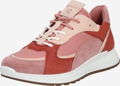 ECCO Sneaker in beige / rosa / rot, Produktansicht