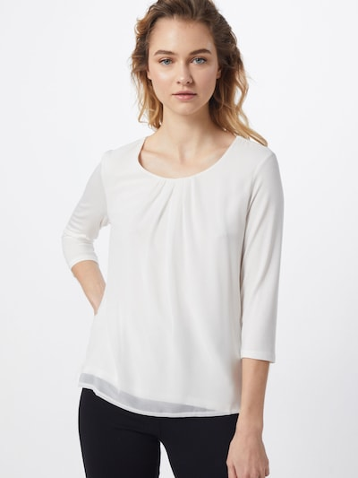 MORE & MORE Blusenshirt 'Active' in offwhite, Modelansicht