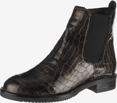 JOLANA & FENENA Chelsea Boots in dunkelbraun / schwarz, Produktansicht