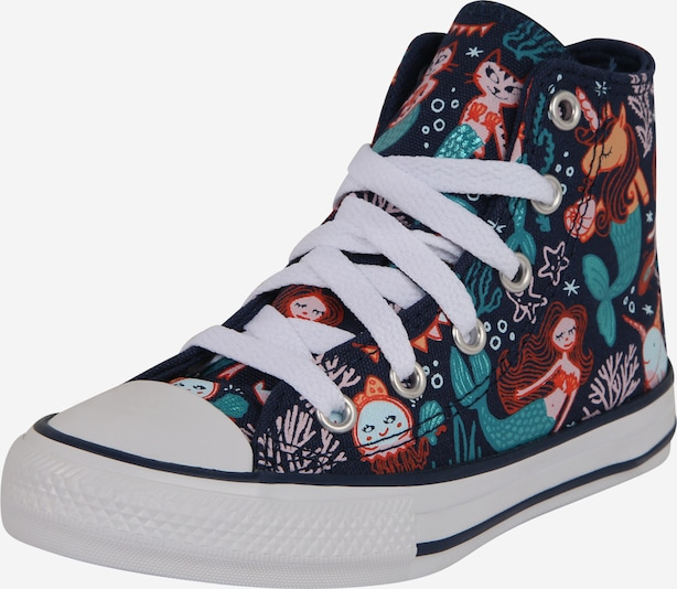 CONVERSE Sneaker 'CHUCK TAYLOR ALL STAR MERMAID - HI' in navy / mischfarben, Produktansicht