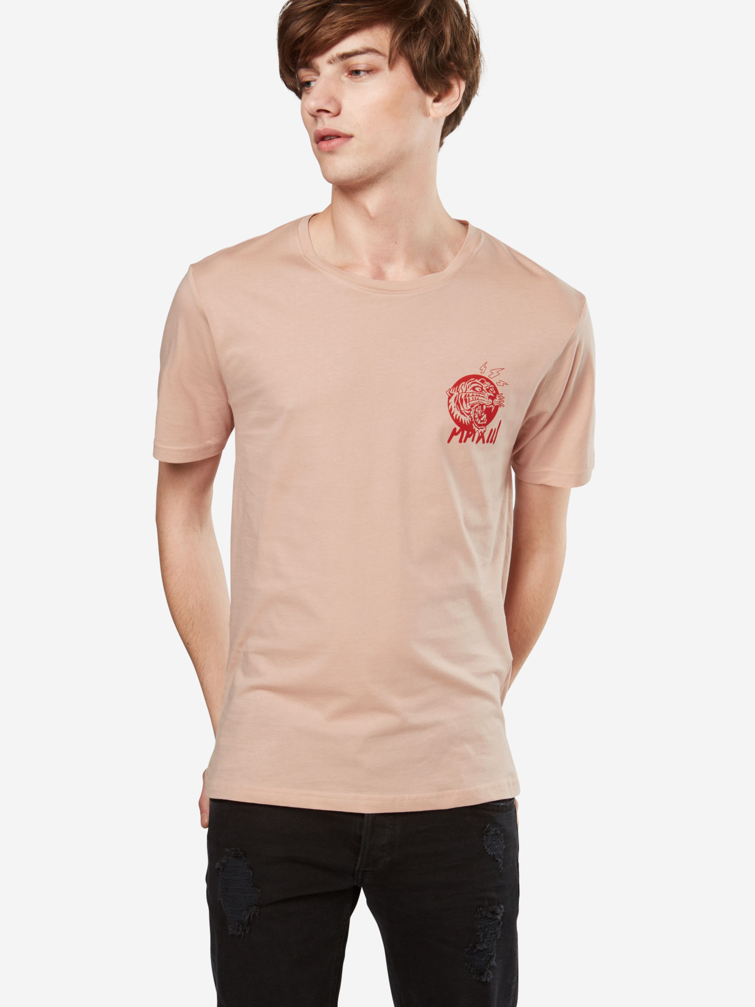 Only & Sons T-Shirt 'FIRE RED CHEST SS TEE EXP' Billig Verkauf Freies Verschiffen Billig Authentisch Spielraum 2018 JJ9QX7k93