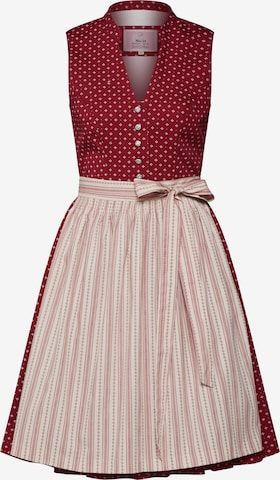 Rochițe tiroleze 'Senia 58' de la MARJO pe roșu